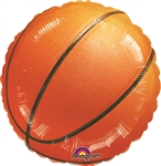 Championship Basketball Mylar Balloon