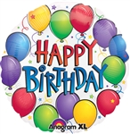 Balloon Fun Birthday Mylar Balloon