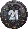 21st Party Balloon