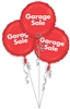 Garage Sale Bunch P.O.P. Mylar Balloons