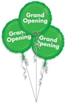 Grand Opening Bunch P.O.P. Mylar Balloons