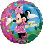 Minnie Happy Birthday Mylar Balloon