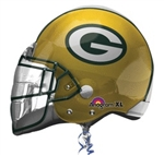 Green Bay Packer Helmet Mylar Balloon