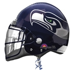 Seattle Seahawks Helmet Mylar Balloon