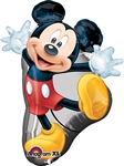 Mickey Full Body Shape Mylar Balloon