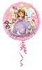 Sofia the First Princess Birthday Mylar Balloon