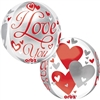 """I Love You"" Floating Heart Mylar Balloon"