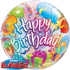 Birthday Surprise Bubble Mylar Balloon