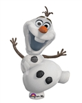 Frozen's Olaf Supershape Mylar Balloon