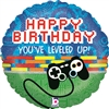 Game Controller Birthday Mylar Balloon