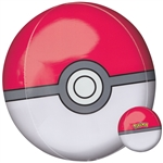 Pokeball Orbz Mylar Balloon