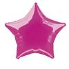 Hot Pink Star Mylar Balloon