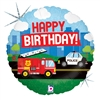 EMERGENCY VEHICLE BIRTHDAY