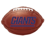 New York Giants Football Mylar Balloon