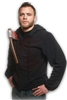 Hoodie With Axe Large Adult