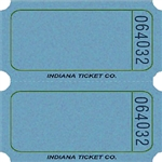 BLUE DOUBLE BLANK TICKETS