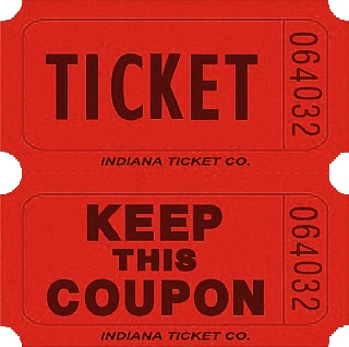 red double keep coupon tickets bartz s party stores