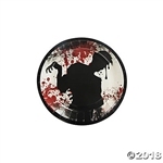 Zombie Party 7 Inch Dessert Plates