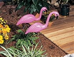 FLAMINGO LAWN SET
