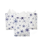 Clear Snowflake Bag 10.5'