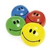 SMILE FACE BEACH BALL - 14IN