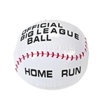 Inflatable Baseball Beach Ball 4 Pack