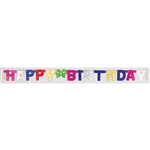 Happy Birthday Jointed Banner