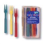 Assorted Color Party Forks