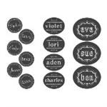 Chalkboard Drink Labels