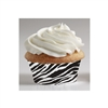Zebra Mini Baking Cups