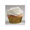 Leopard Mini Baking Cups