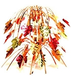 Fall Leaves Mini Foil Cascade Centerpiece