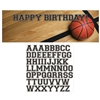 Basketball Sports Fanatic Giant Party Banner