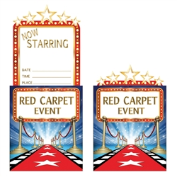 Hollywood Lights Party Invitations