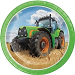 Tractor Time 7 inch Dessert Plates
