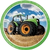 Tractor Time 9 inch Dinner Plates