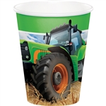 Tractor Time 9oz Paper Cups