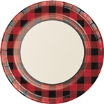 Buffalo Plaid 10 Inch Plates