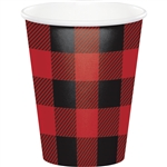 Buffalo Plaid 9oz Cups