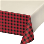Buffalo Plaid Table Cover