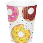 Donut Time 9oz Cups