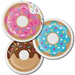 Donut Time 7 Inch Plates