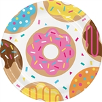 Donut Time 9 Inch Plates