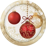 Opulent Ornaments 9 inch Plates