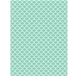 Mint Scallop Photo Backdrop