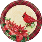 HOLIDAY SYMBOLS 9IN PLATES