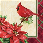 HOLIDAY SYMBOLS LUNCHEON NAPKINS