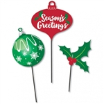 HOLIDAY ICONS CENTERPIECE STICKS