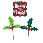 MERRY & BRIGHT CENTERPIECE STICKS