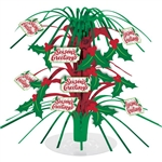 SEASONS GREETINGS CASCADE CENTERPIECE
